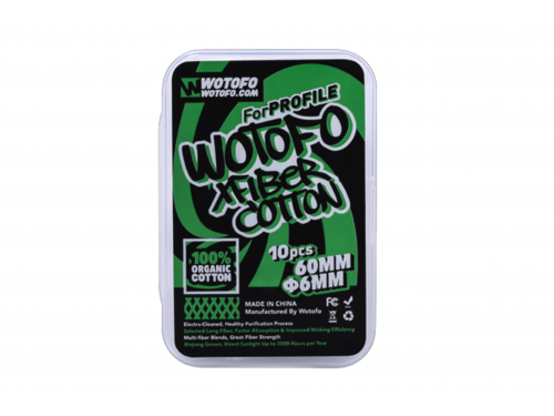 Wotofo Profile Xfiber Watte 6mm