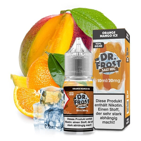 DR. FROST Orange Mango Ice Nikotinsalz Liquid 10ml 20mg/ml